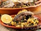 Рецепта Пълнен шаран с лимони за Никулден
